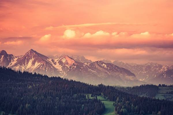 Tatra Mountains in the morning